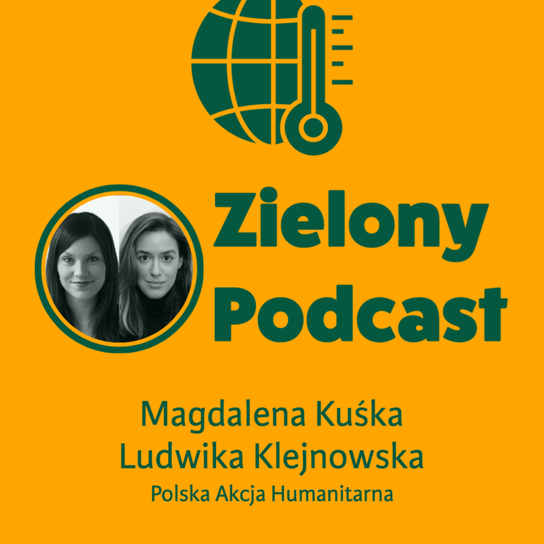 Migracje klimatyczne: MILIARD ludzi będzie szukać nowego domu? Magdalena Kuśka i Ludwika Klejnowska, PAH