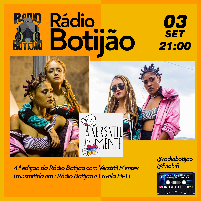 4# Rádio Botijão com Versátil Mente