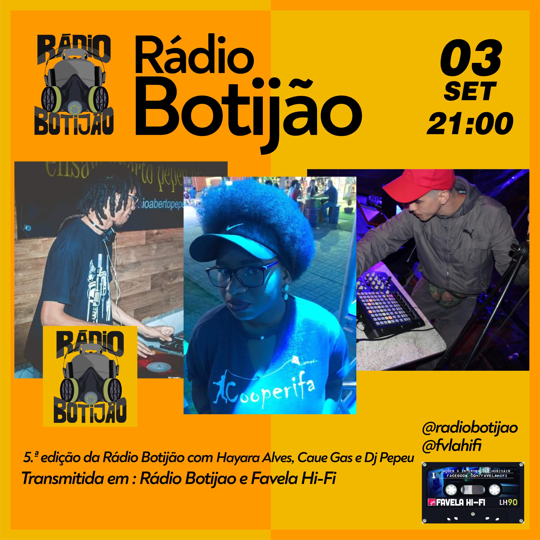 5# Rádio Botijão com os integrantes da Rádio Botijão