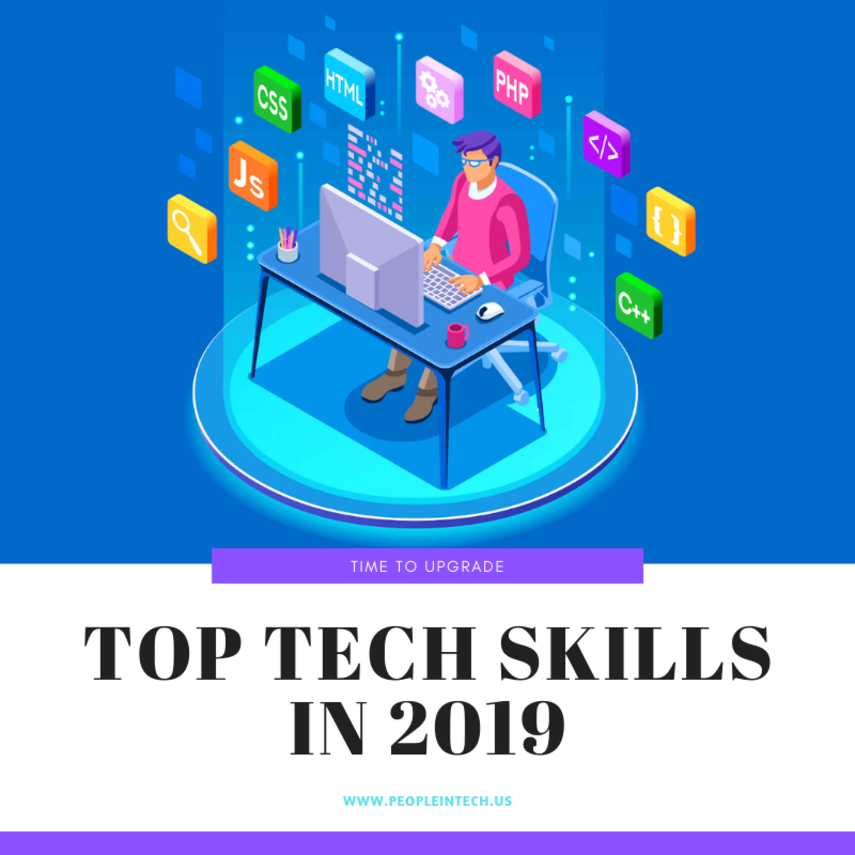 Top Tech Skills in 2019 - 08/06/19
