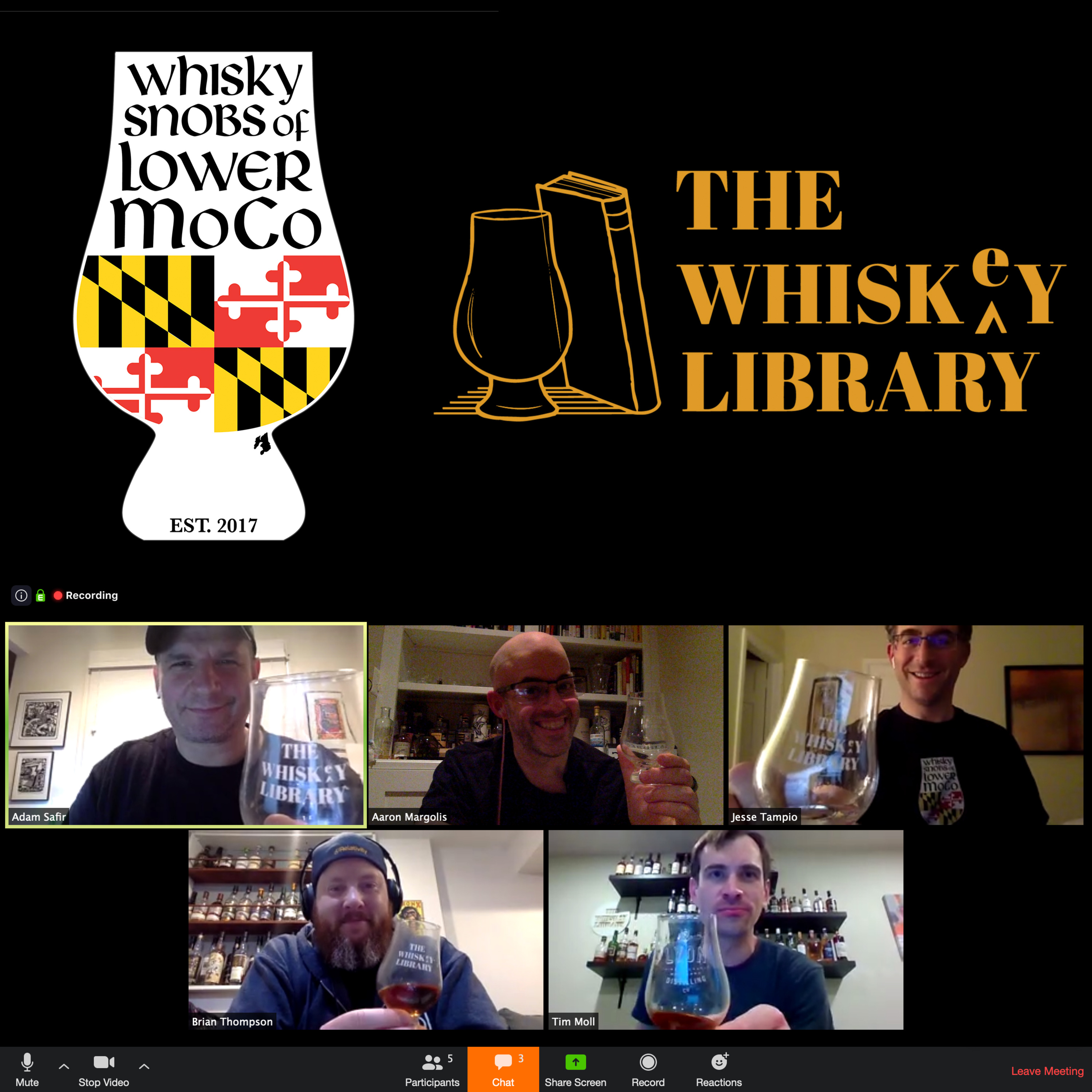 Interview & Tasting with The Whisk(e)y Library - Part 1