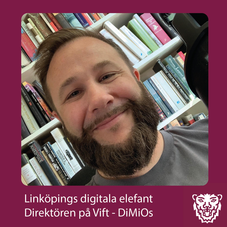Direktören på vift: Johan Magnusson - Linköpings Digitala Elefant