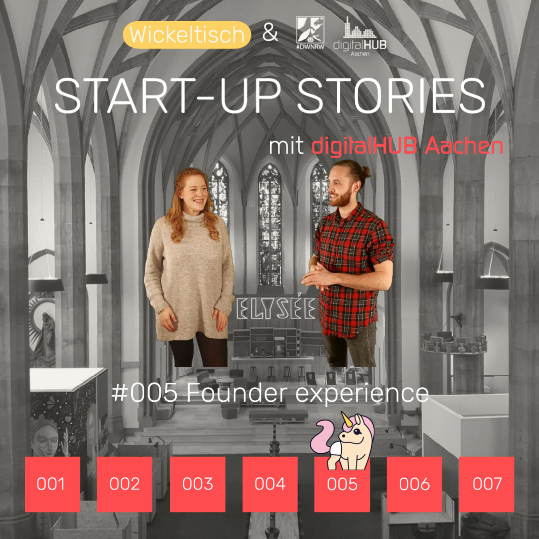 [Start-Up Stories] S3E5 Founder experience - mit dem digitalHUB Aachen
