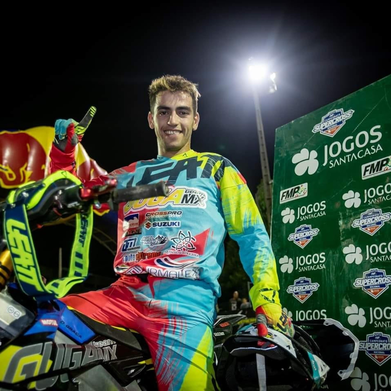 Diogo Graça é o novo campeão português de Supercross