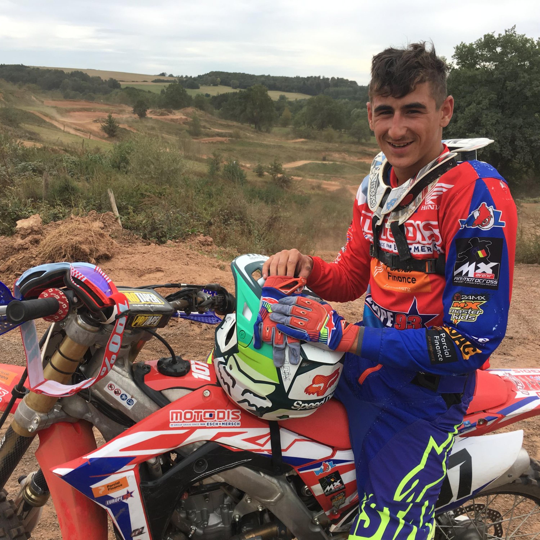 O Lusodescendente Dylan Figueiredo vai representar o Luxembourgo no Motocross das Nações