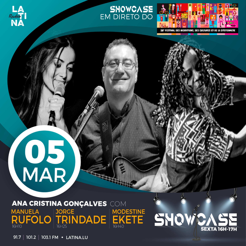 """Showcase especial """"Festival das Migrações, das Culturas e da Cidadania"""