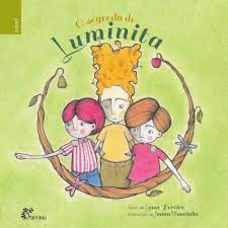 """Apresentação do livro infantil """"O Segredo de Luminita""""."""