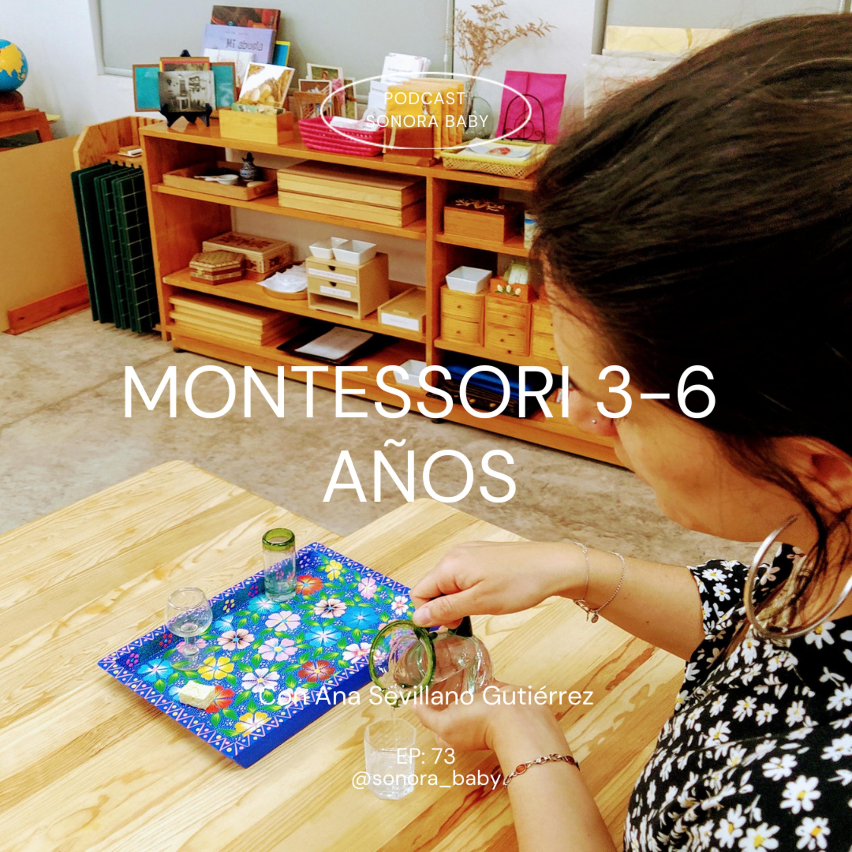 Vida práctica Montessori 3 años con