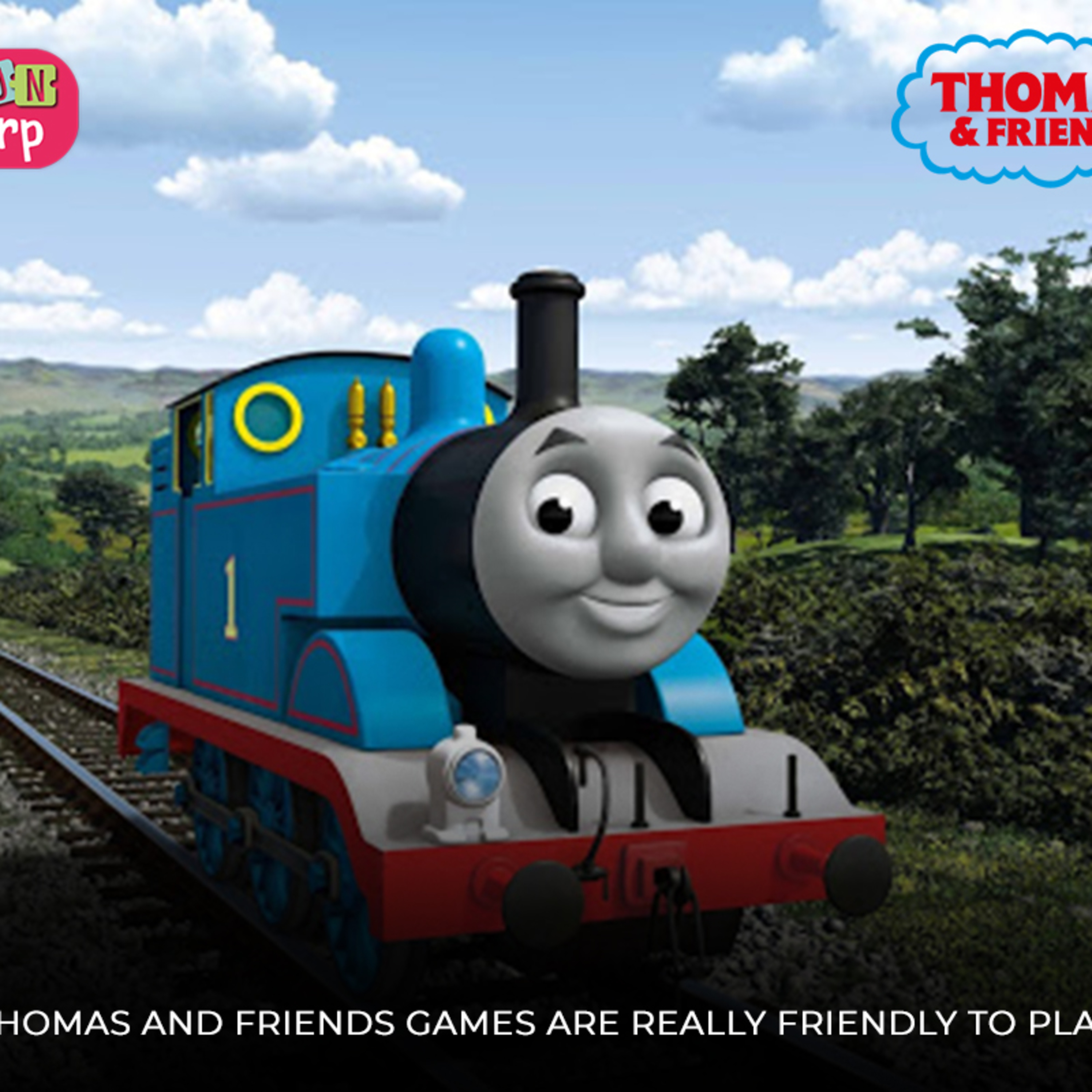 Thomas and Friends Games are Really Friendly To Play