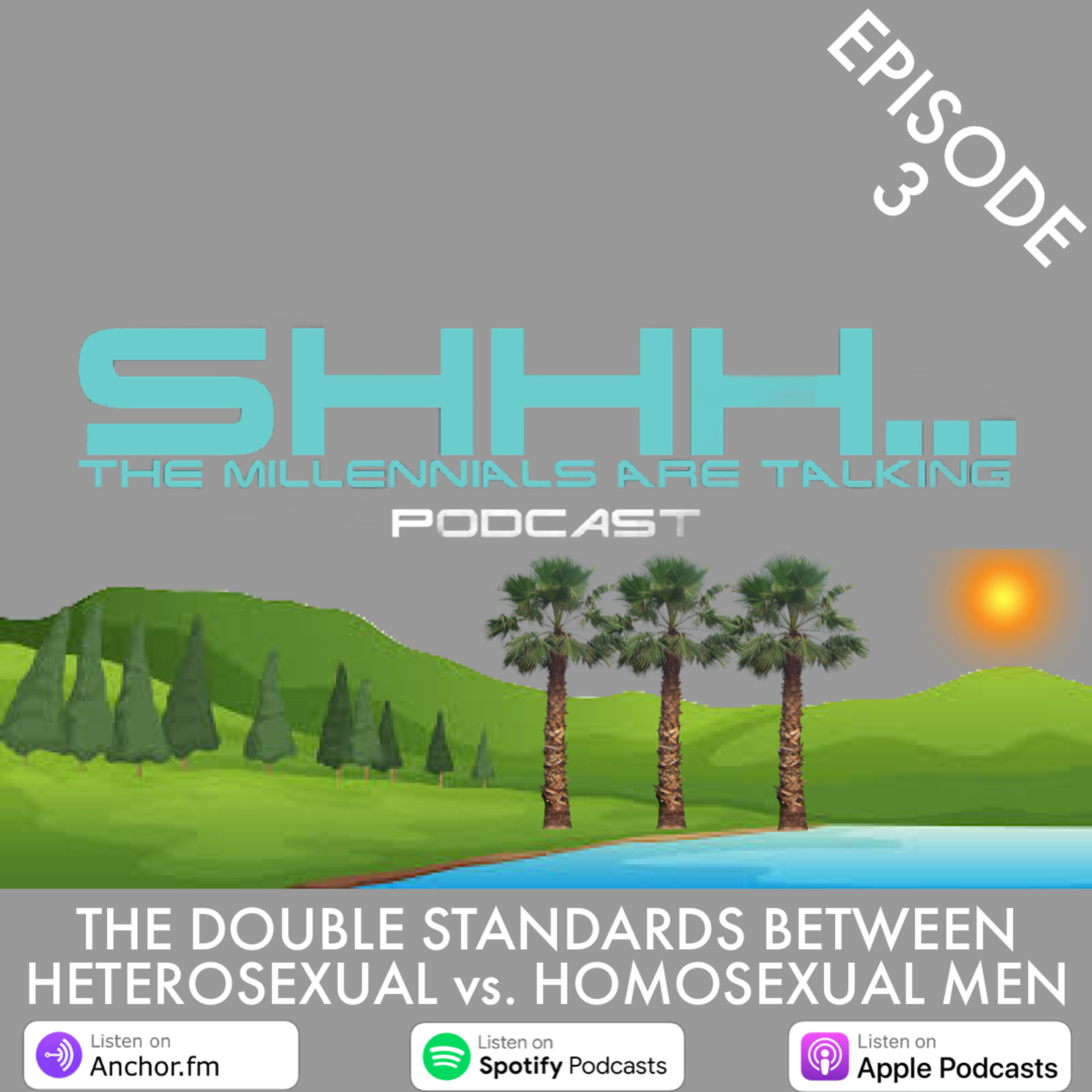THE DOUBLE STANDARDS BETWEEN HETEROSEXUAL vs. HOMOSEXUAL MEN