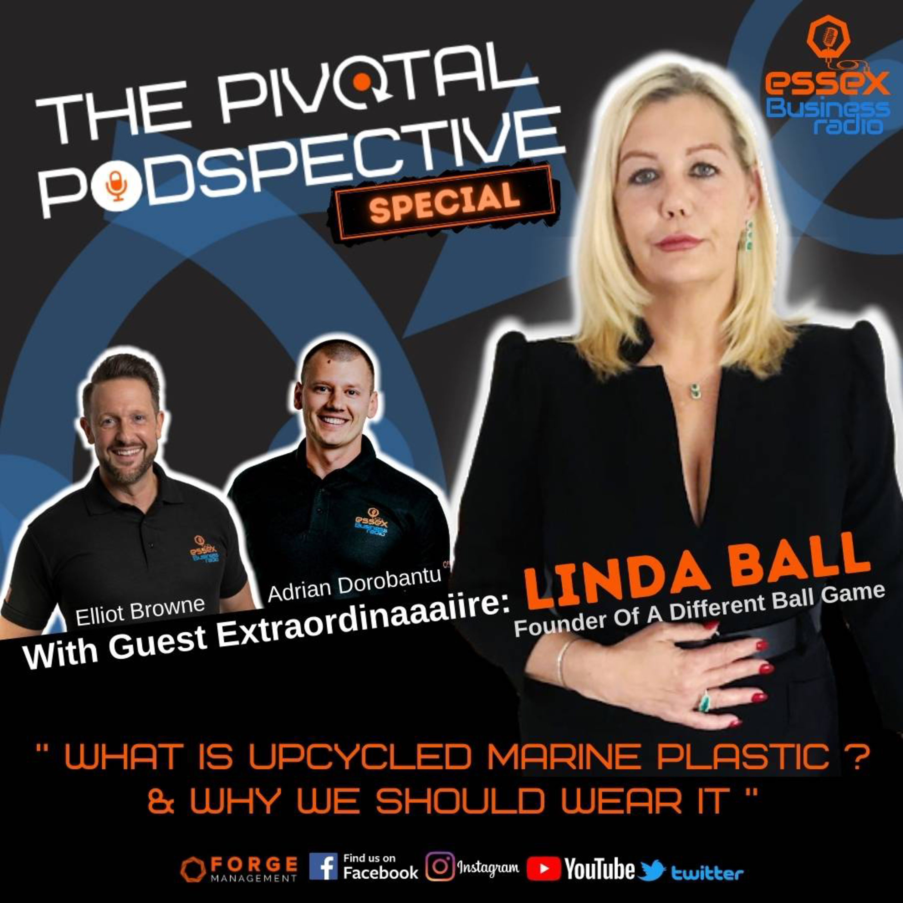 What Is Upcycled Marine Plastics? Chatting To Linda Ball Of 'A Different Ball Game'