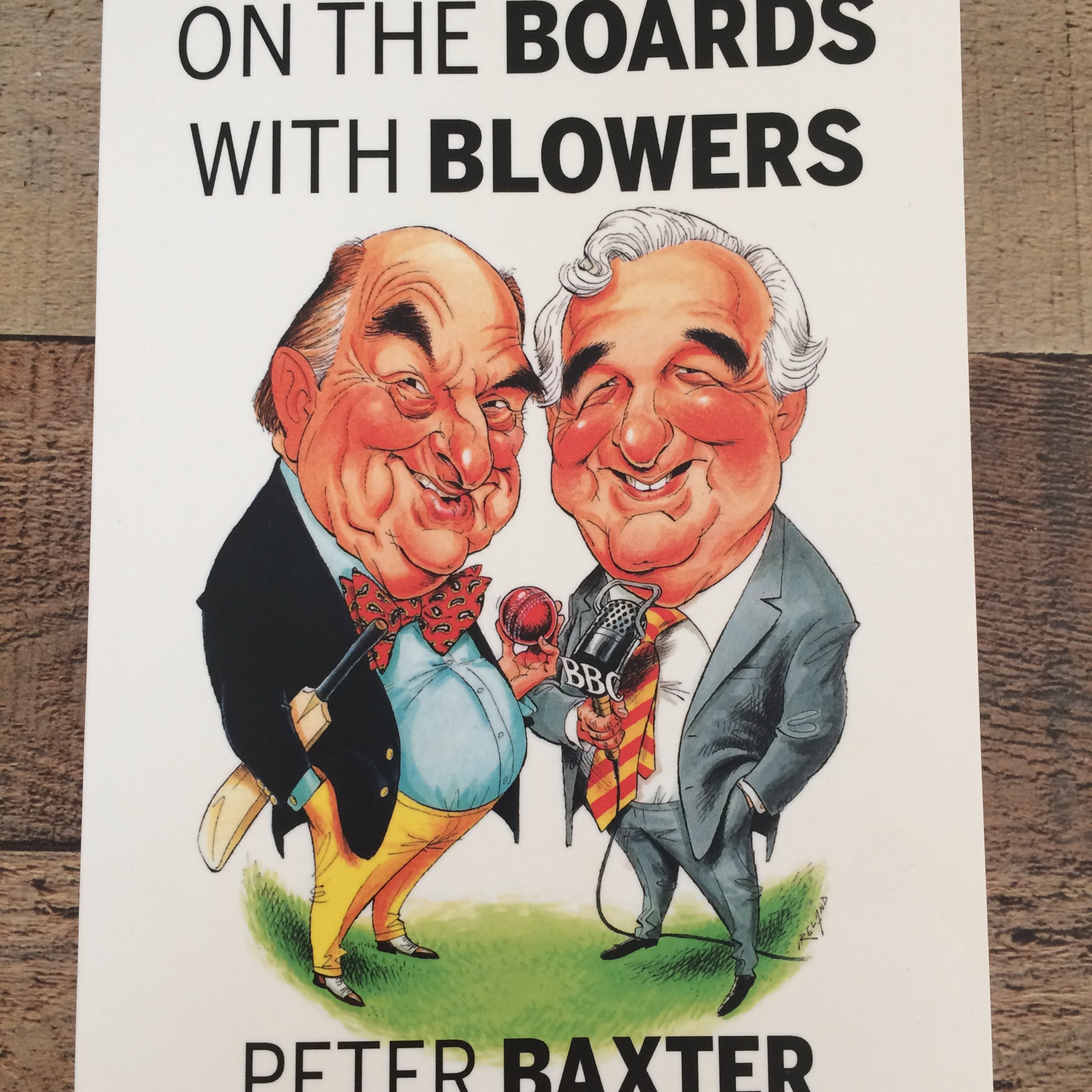 """Episode 1 Peter Baxter """"ON THE BOARDS WITH BLOWERS"""""""