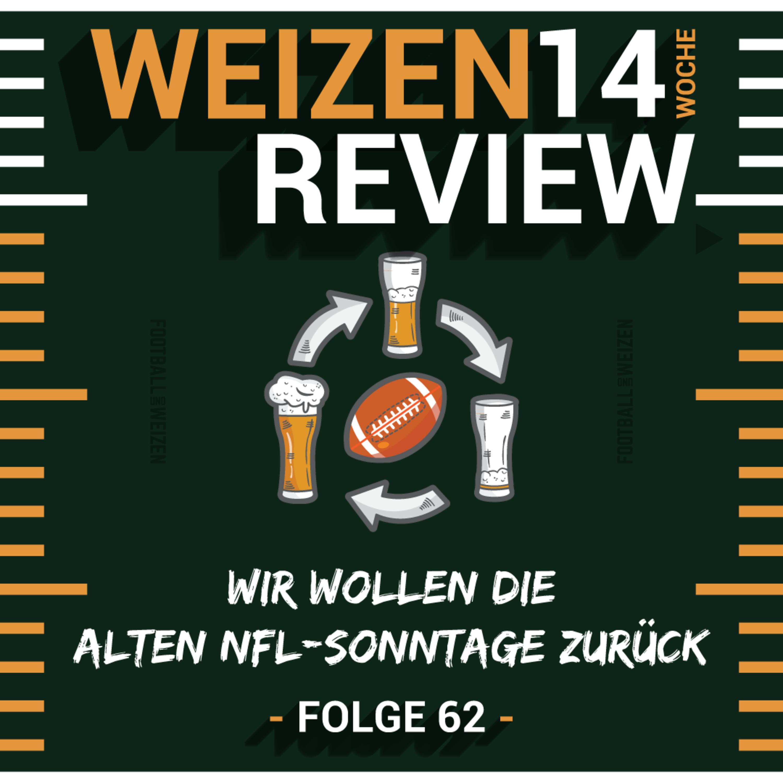 Wir wollen die alten NFL-Sonntage zurück   Weizenreview Woche 14   S2 E62   NFL Football