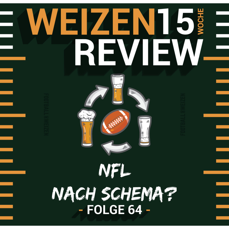 NFL nach Schema? | Weizenreview Woche 15 | S2 E64 | NFL Football