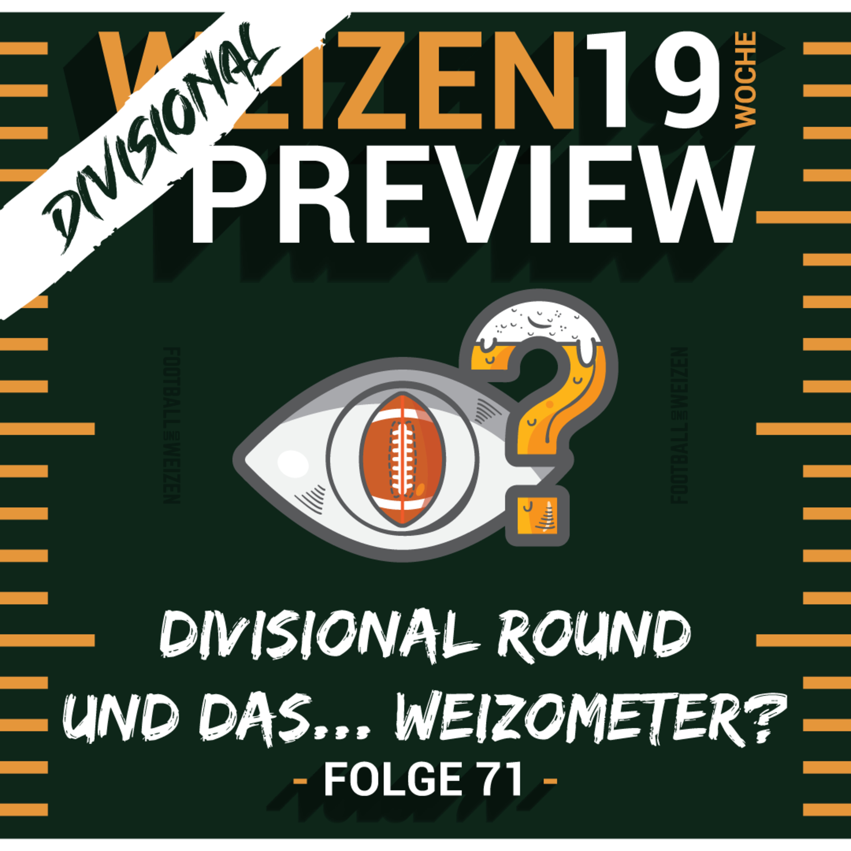 Divisional Round und das... Weizometer? | Weizenpreview Divisional | S2 E71 | NFL Football