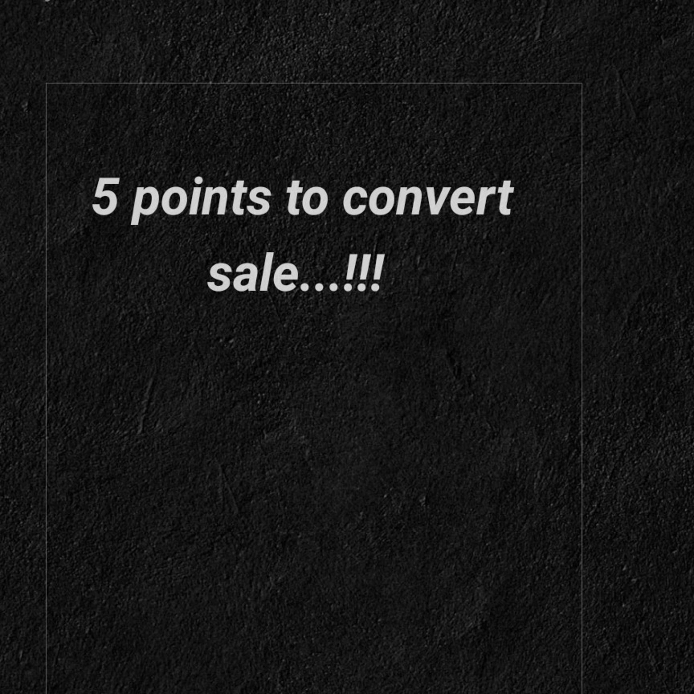 Easy way to convert sale