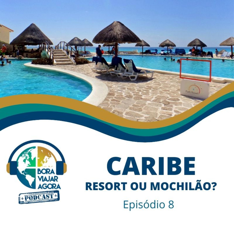<p>Episódio 8 do Podcast do Bora Viajar Agora, sobre o Caribe, ou mais especificamente sobre Cancún (México) e Punta Cana (República Dominicana). Resort ou mochilão? São destinos em que a maioria das pessoas faz a viagem através de um pacote fechado com agência de turismo, ficando em grandes resorts com piscina à beira-mar e esquema all-inclusive. No entanto, mostramos que também é possível viajar para esses lugares de maneira econômica, se hospedando em hostels ou hotéis mais baratos e fazendo os passeios por conta própria. Feito por Tiago Leme e Lívia Alves.</p>