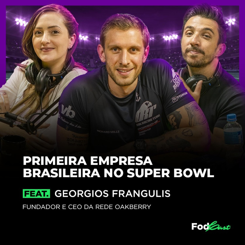PRIMEIRA EMPRESA BRASILEIRA NO SUPER BOWL feat. Georgios Frangulis