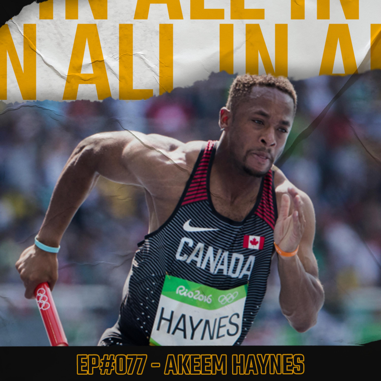 #077 - Adaptability, resiliency, & athlete empowerment with Akeem Haynes