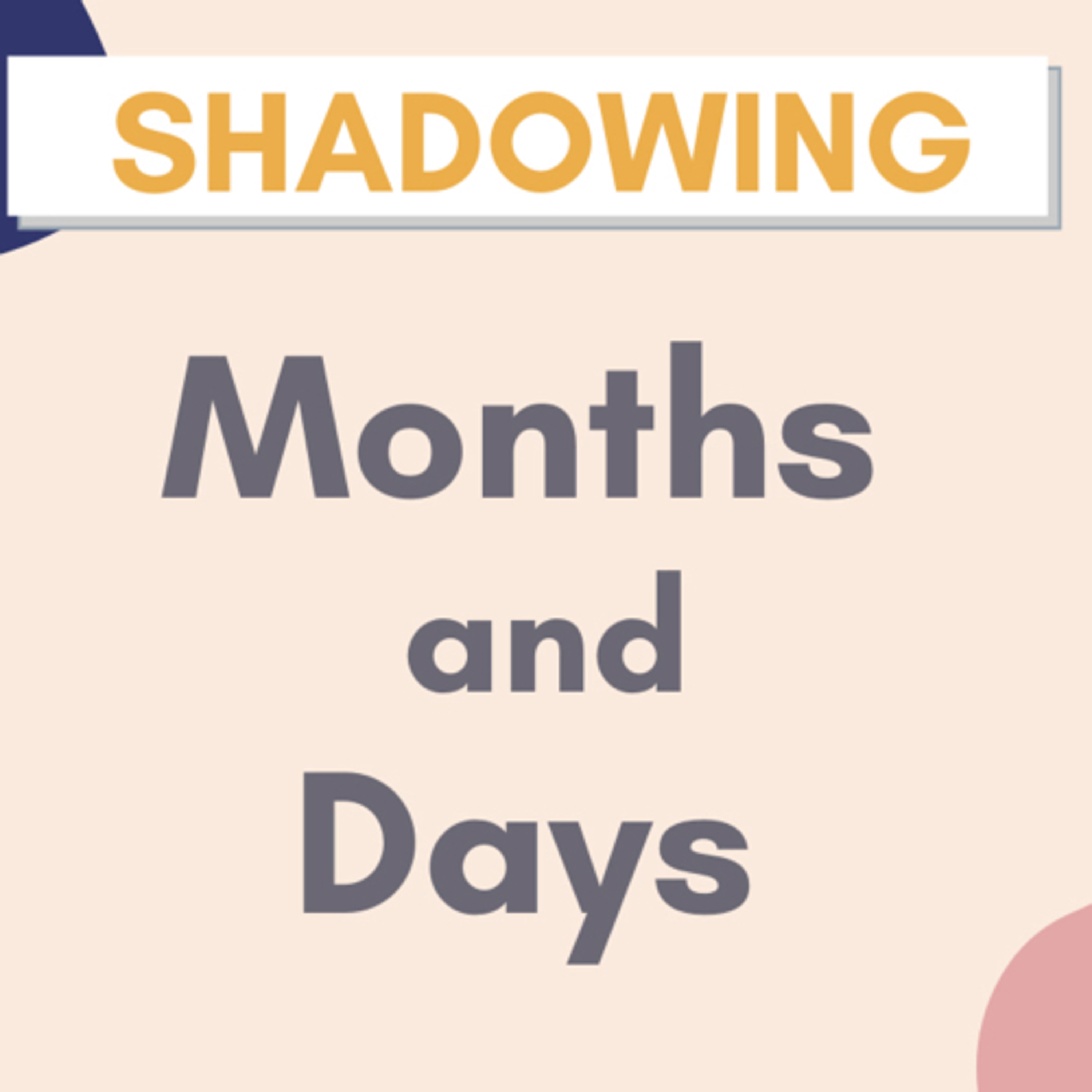 【Shadowing】Months, Days and Days of Week in Japanese