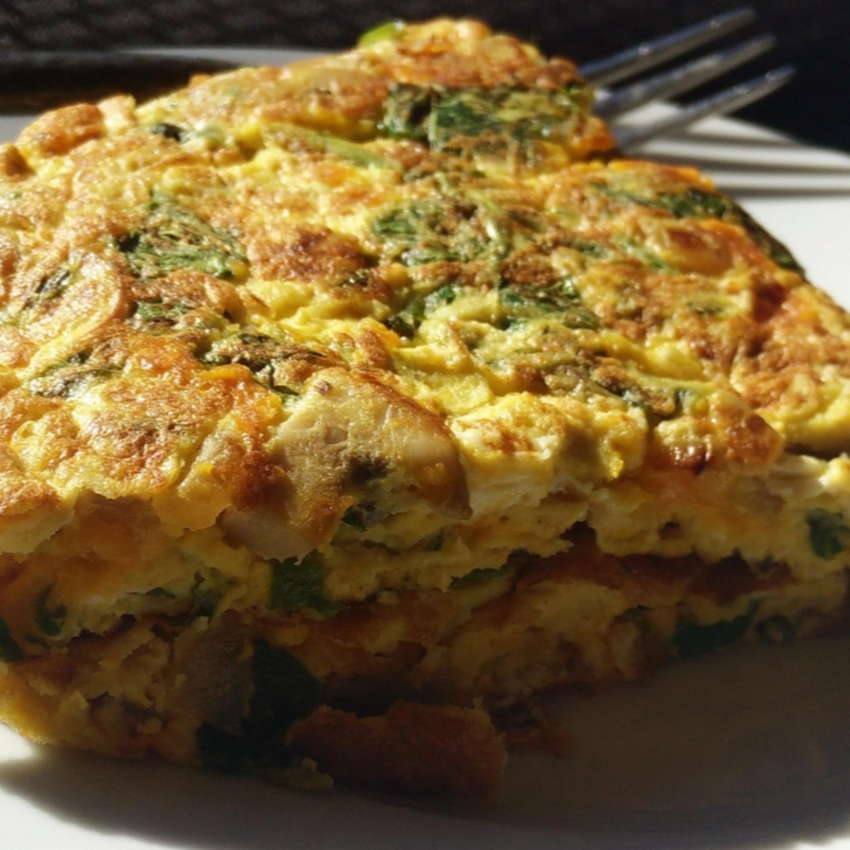 Saiba como preparar uma deliciosa e prática 'omelete de forno'