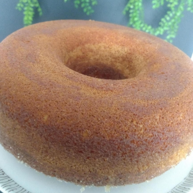 Receita com afeto: bolo de laranja com calda da Lucy Mizael