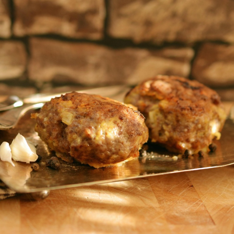 Como preparar bolinhos de carne com berinjela, receita da cozinha levantina