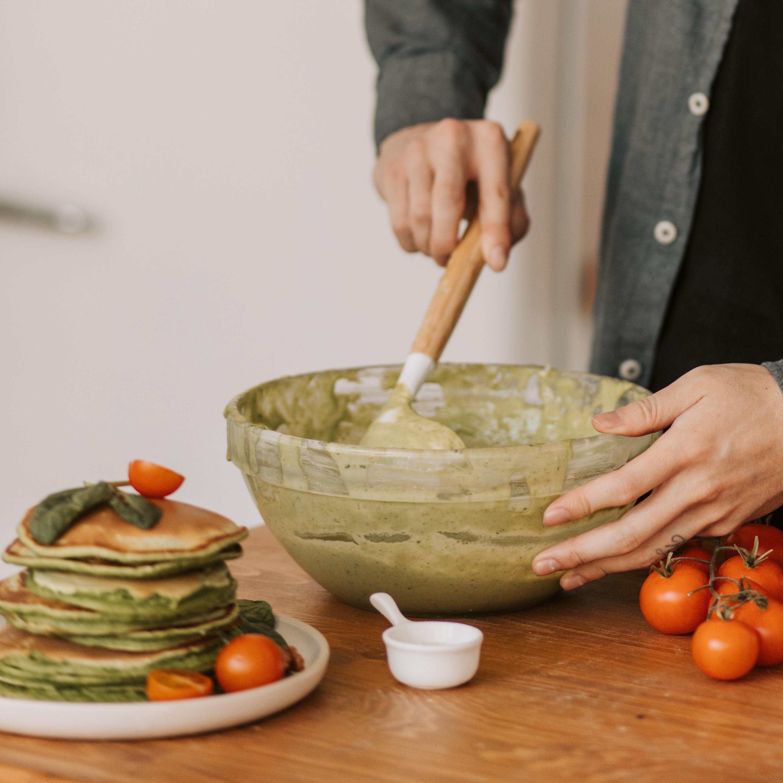Panqueca de espinafre com frango e requeijão: saiba como preparar!