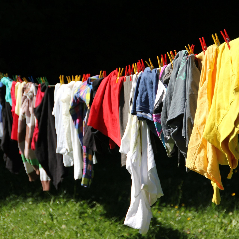 As dicas da Lucy para secar as roupas em dias frios