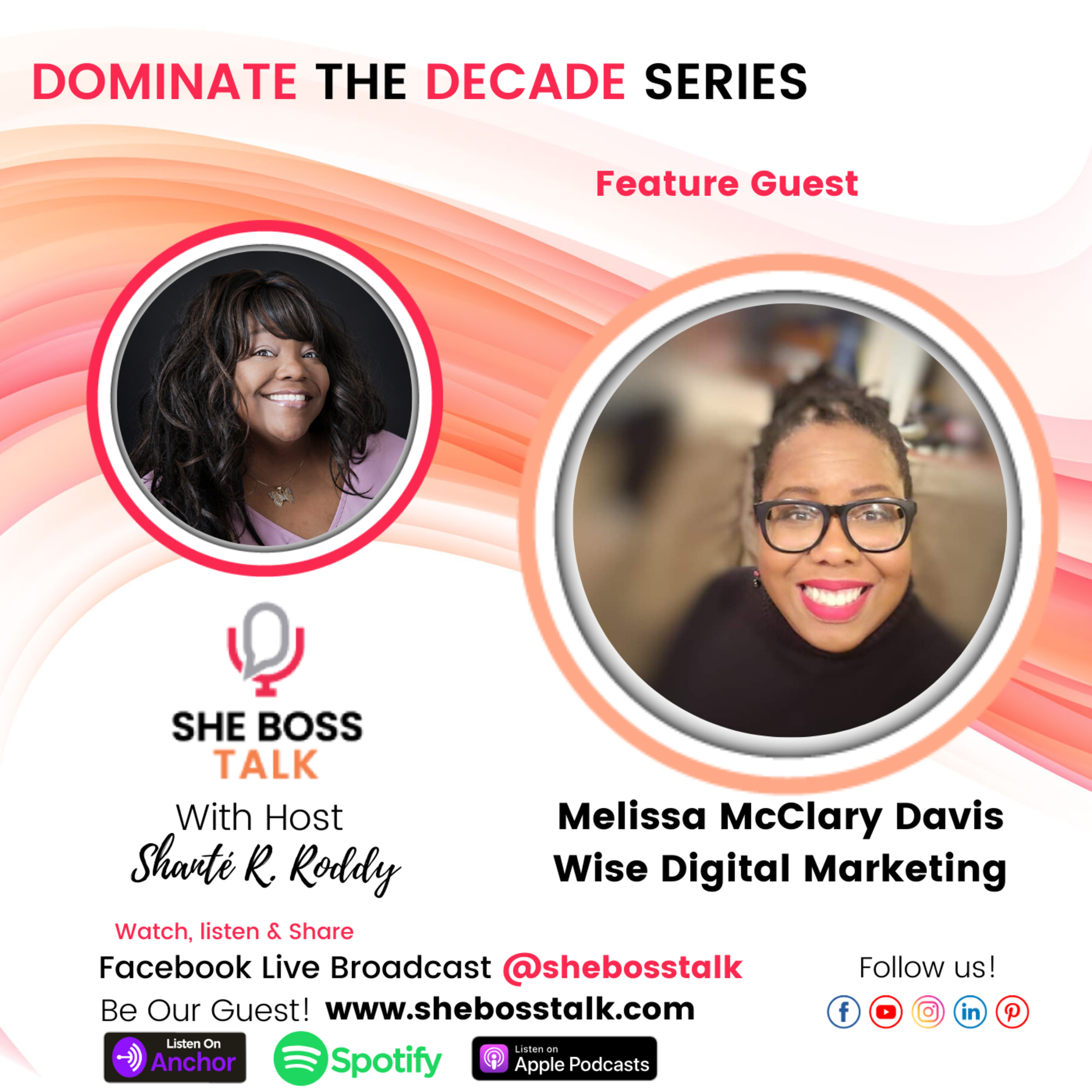 DOMINATE THE DECADE SERIES: SIGNIFICANCE FOR WOMEN IN BUSINESS with Melissa McClary Davis
