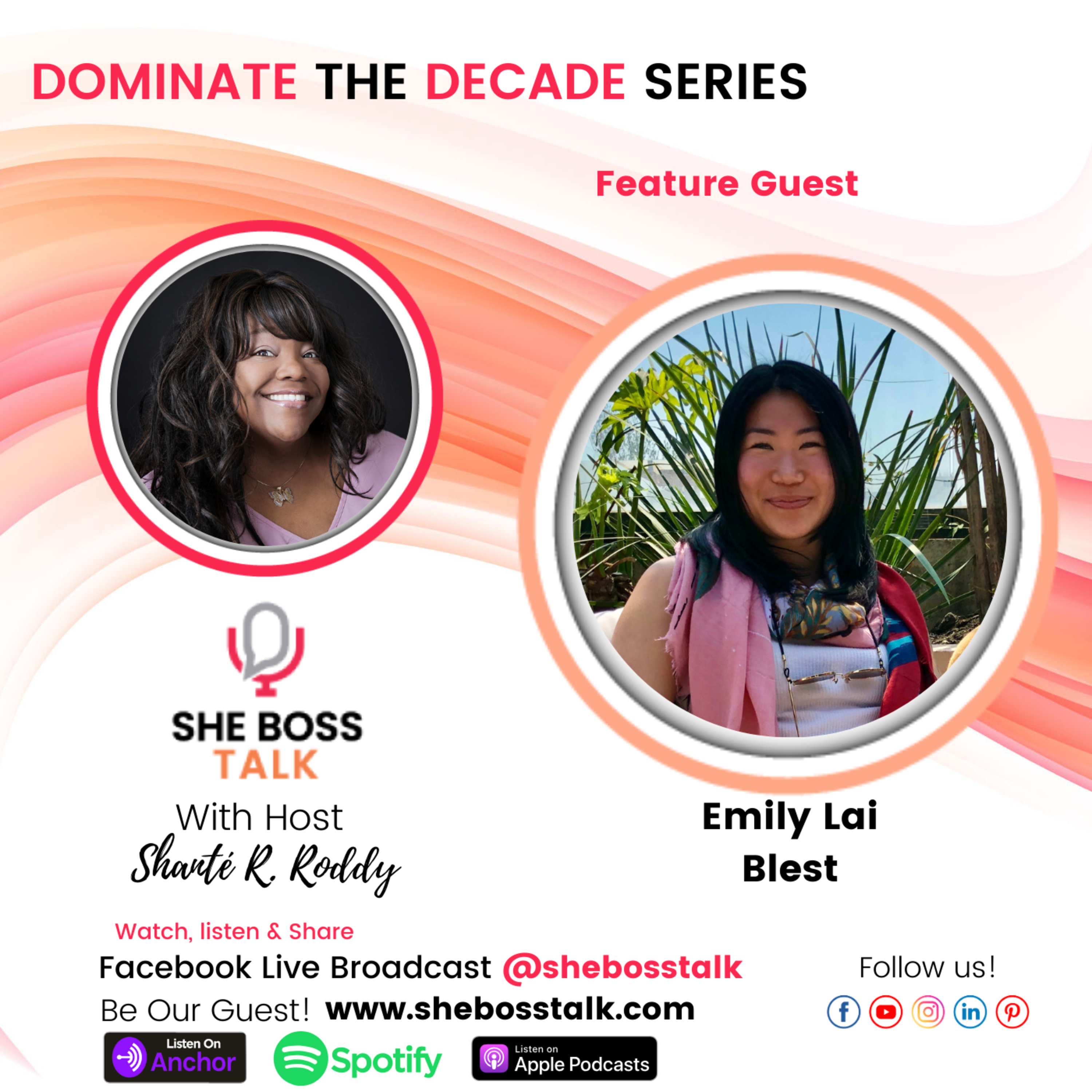 DOMINATE THE DECADE: SIGNIFICANCE FOR WOMEN IN BUSINESS | Emily Lai on She Boss Talk
