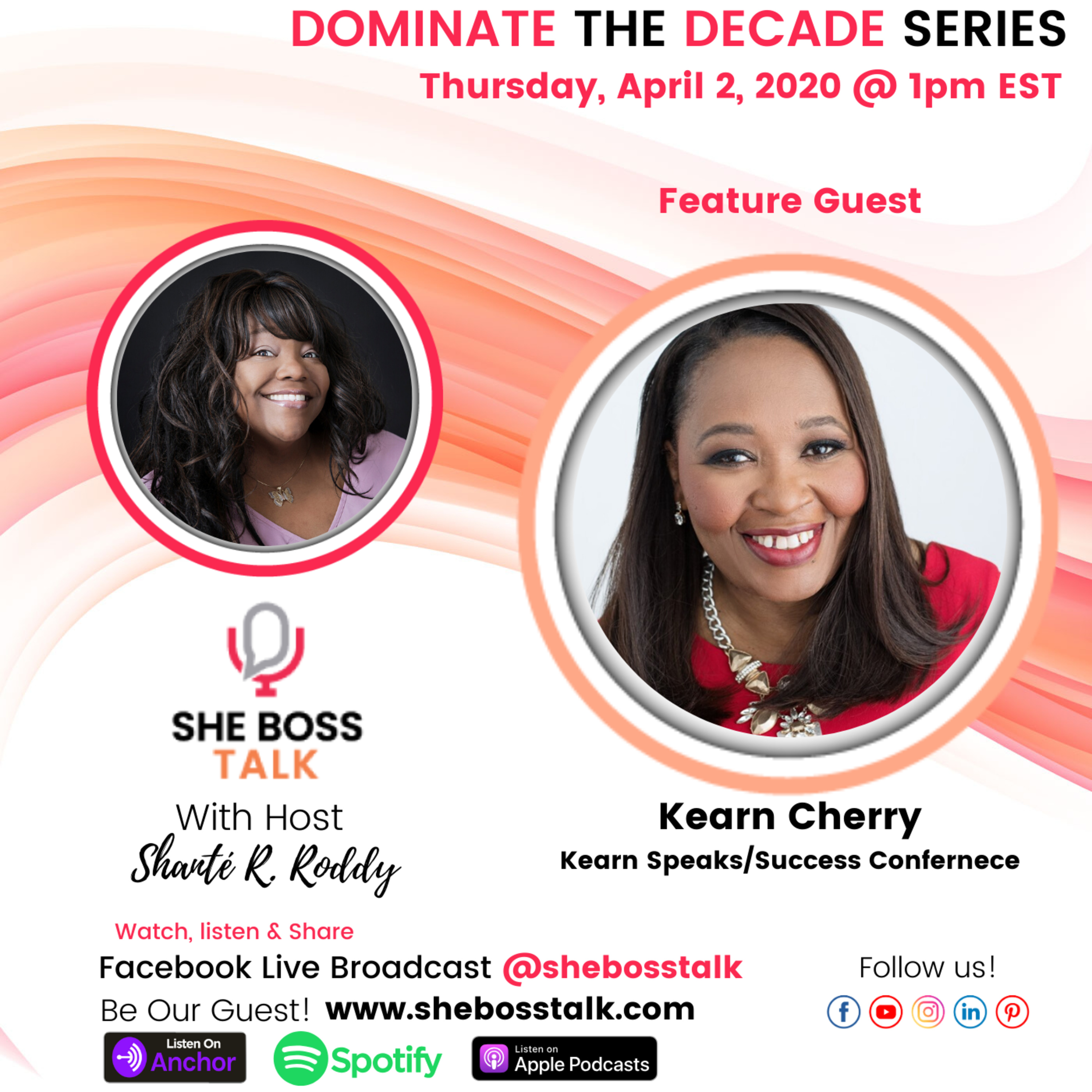 DOMINATE THE DECADE: SIGNIFICANCE FOR WOMEN IN BUSINESS | KEARN CHERRY on She Boss Talk