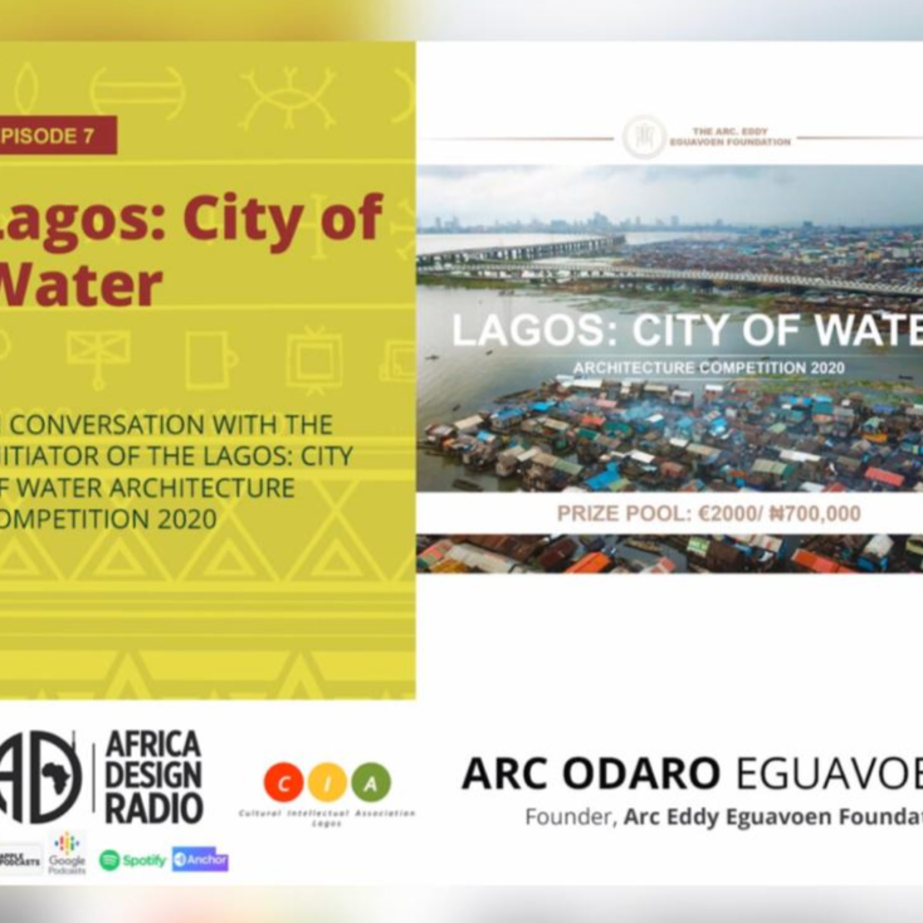 Lagos: City of Water Architecture Competition