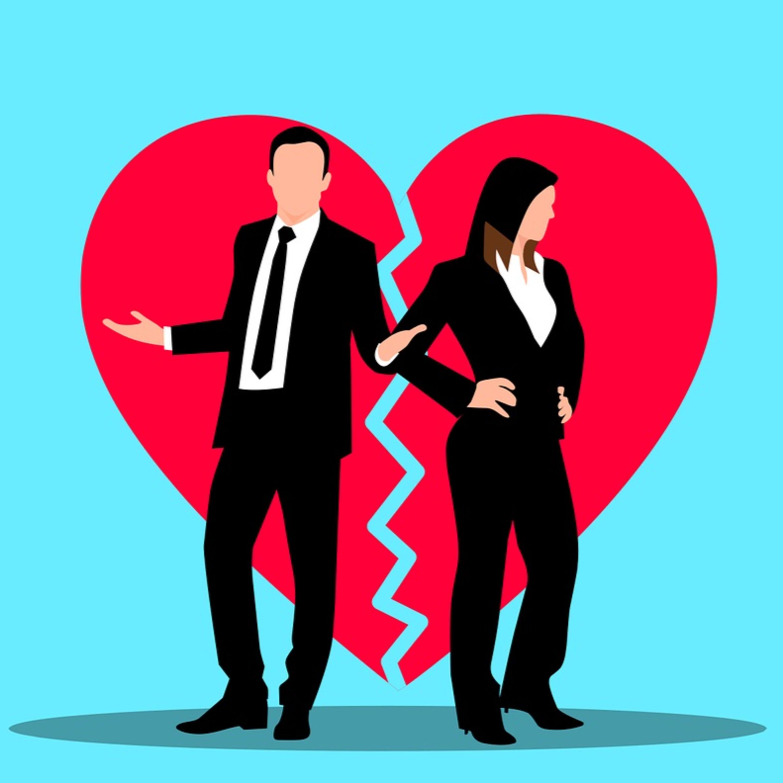 O luto no divórcio: como lidar com as emoções e atravessar suas fases?