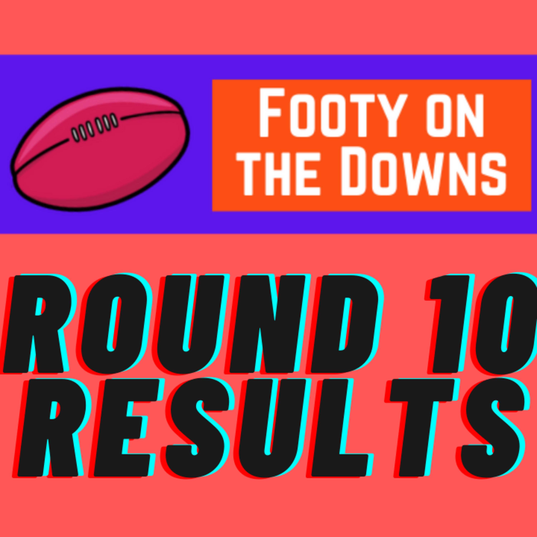 Round 10 Results