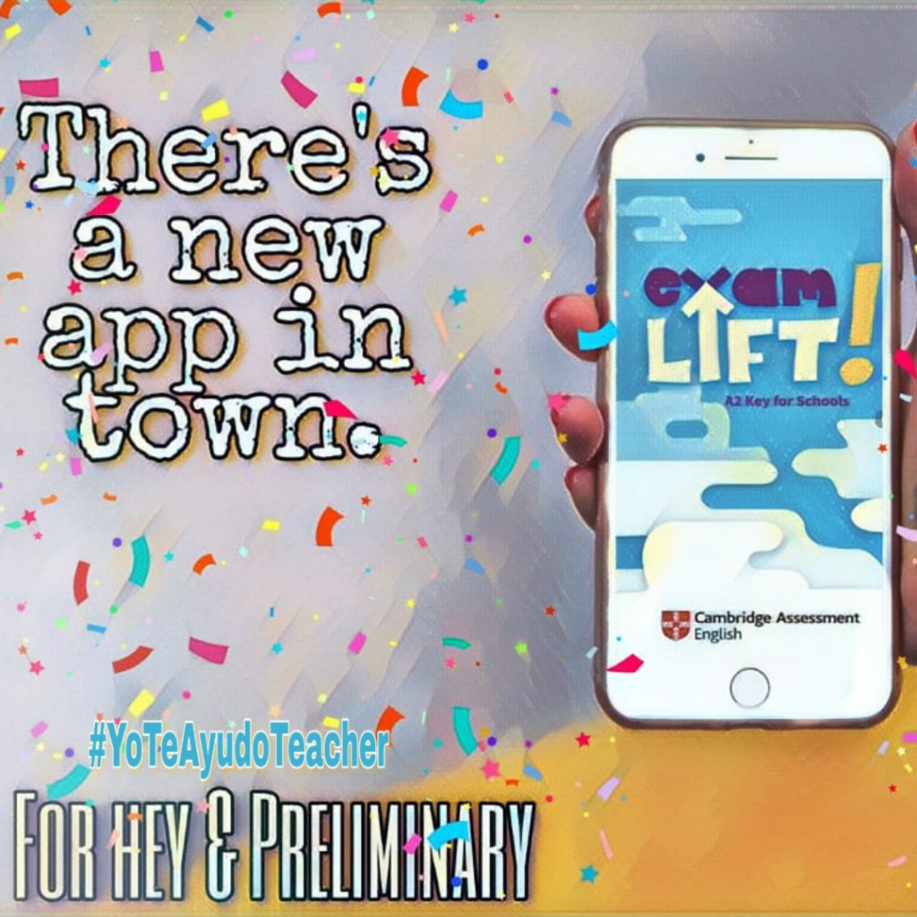 Exam Lift App: Just another great tool by #Cambridge to support your students. #YoTeAyudoTeacher