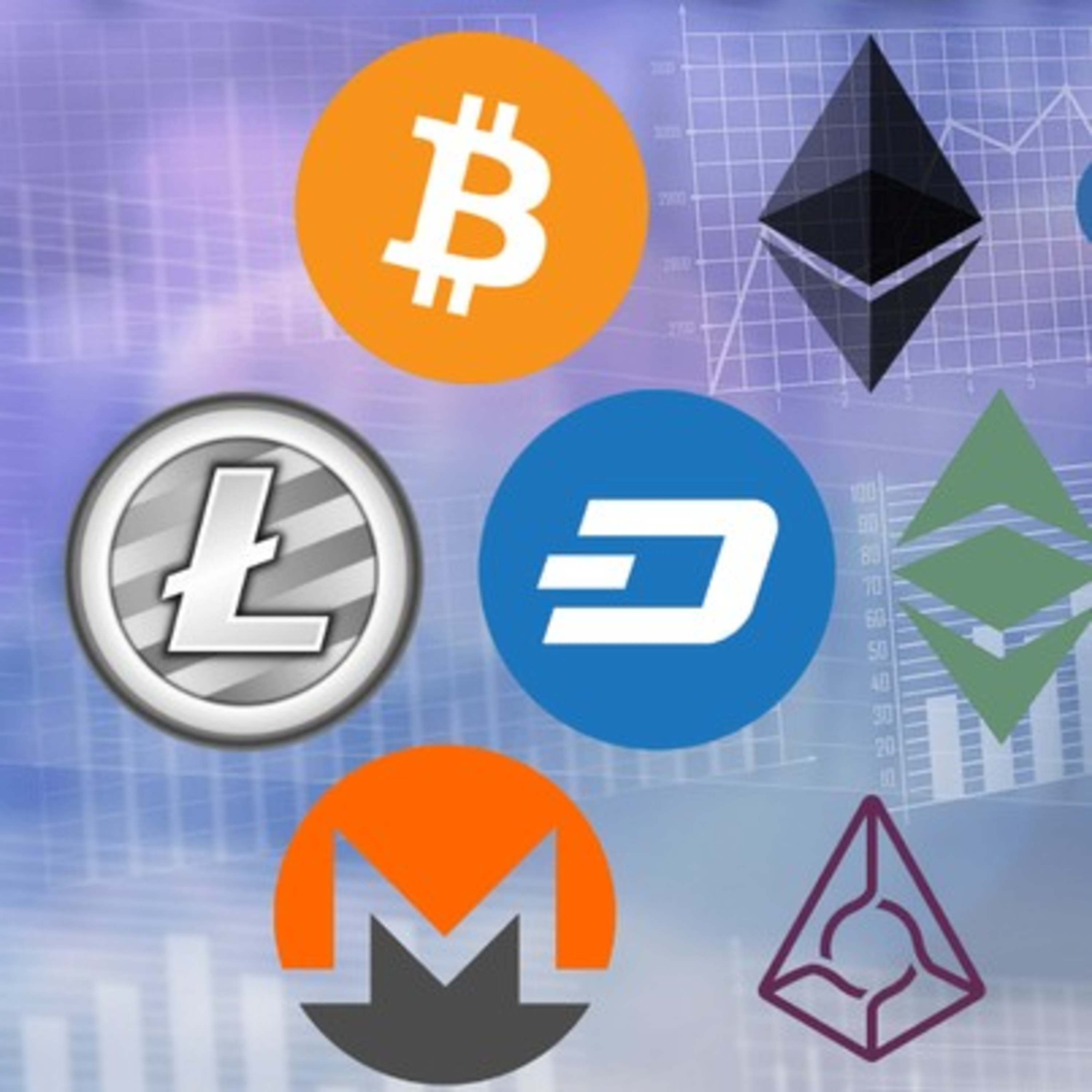 The top 10 Cryptocurrencies, their uses and per coin price.