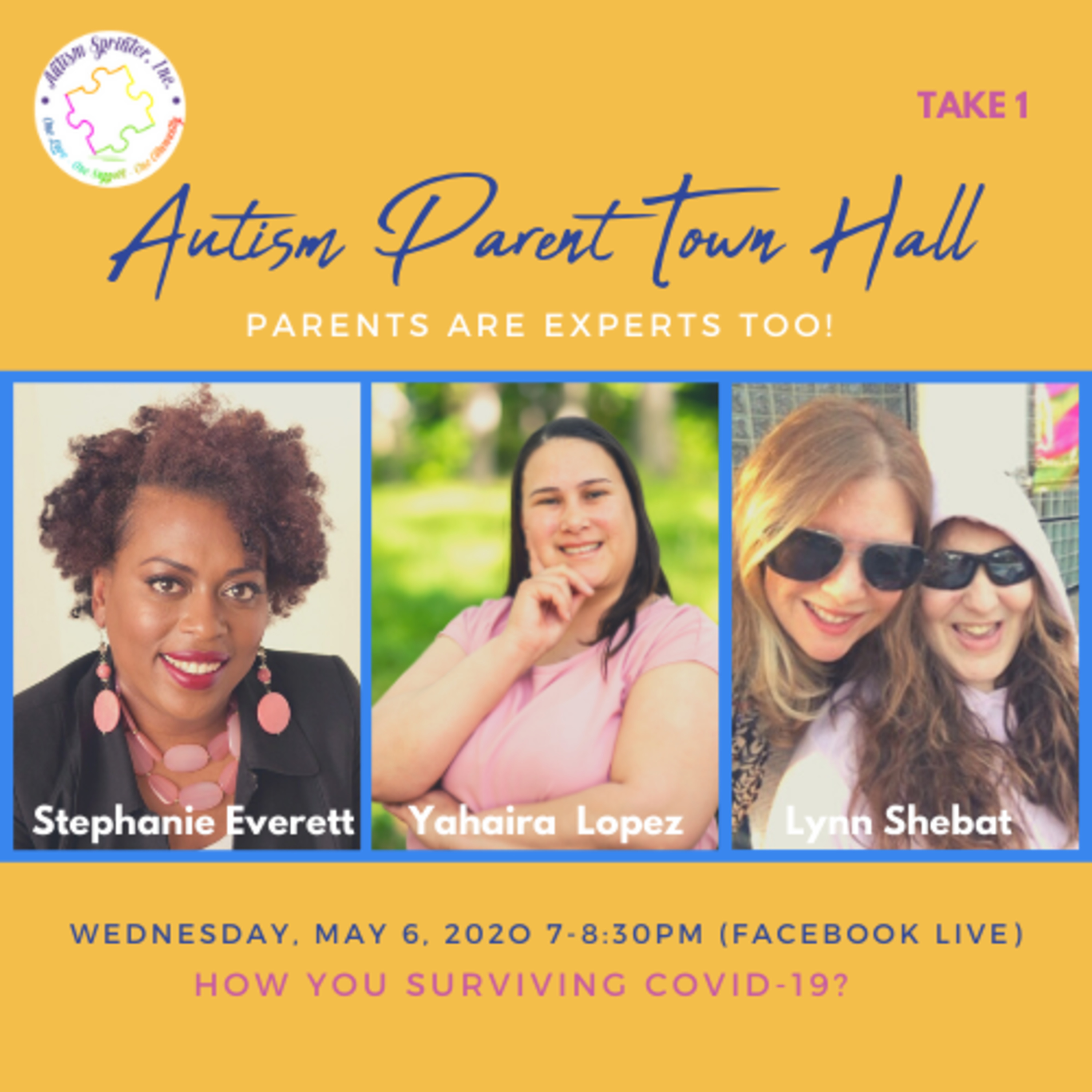 Autism Parent Town Hall (Take 1 Special Edition)