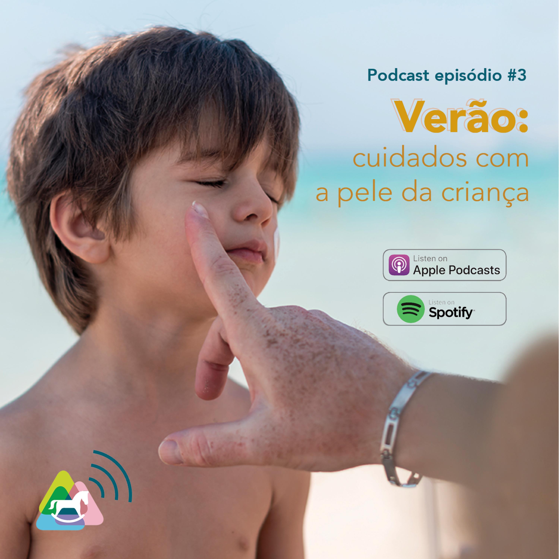 Verão: cuidados com a pele da criança