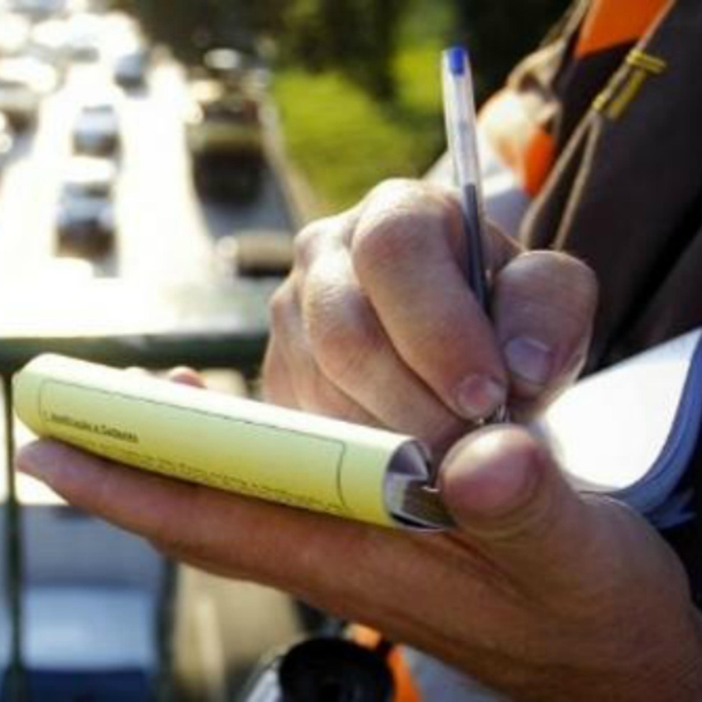 Advertência para multas leves caso não seja reincidente por 12 meses
