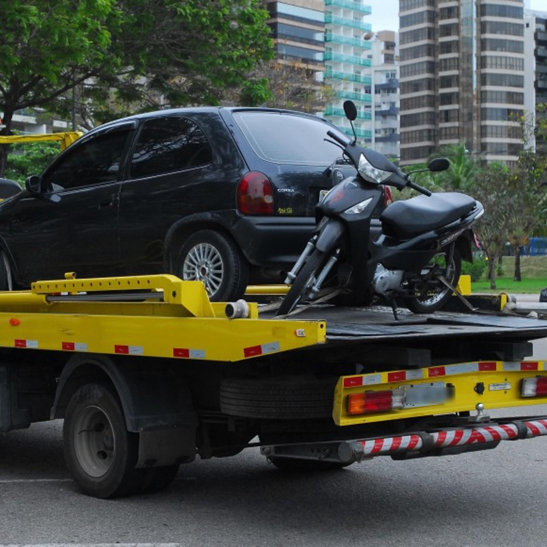 O que fazer quando o veículo é removido no trânsito?