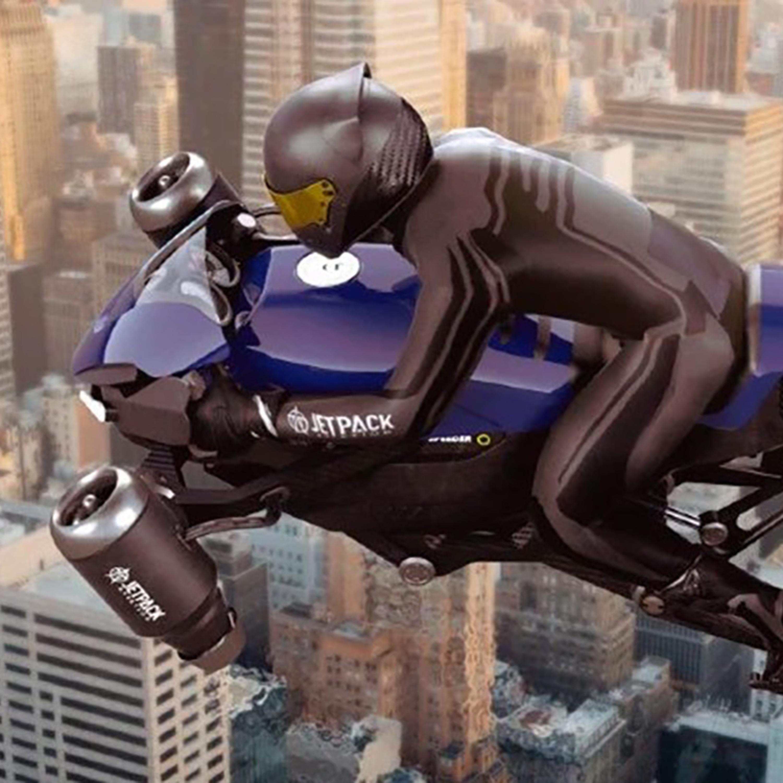"""""""Moto voadora"""" está perto de ser uma realidade?"""