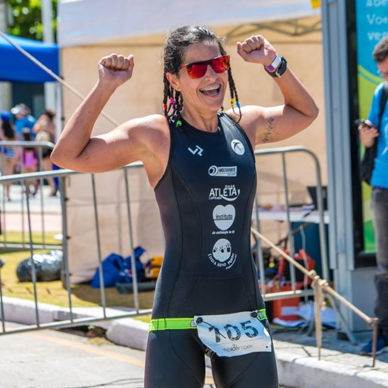 Pentacampeã de triathlon conta os segredos para ser atleta de sucesso