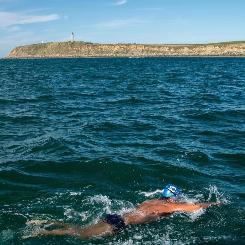 Primeiro capixaba a atravessar à nado Canal da Mancha