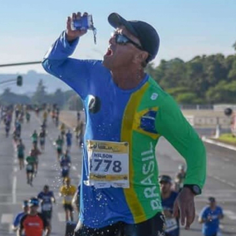 Mineiro de 67 anos, Nilson Lima já correu 270 maratonas