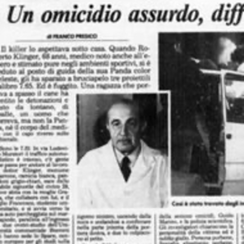 Il misterioso caso del Professor Klinger