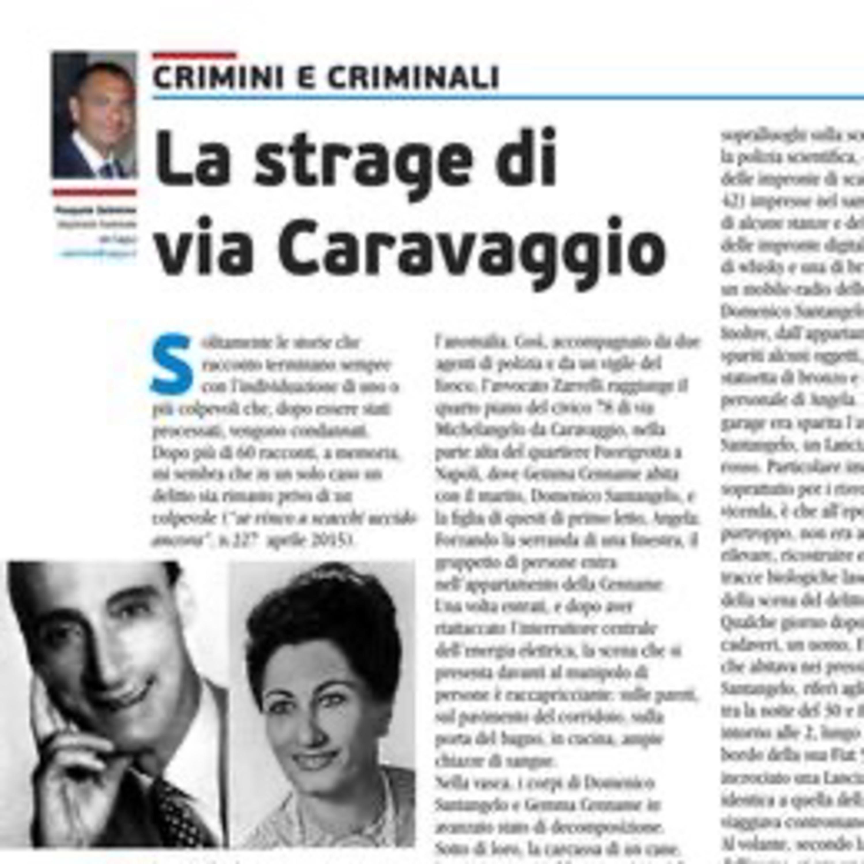 La strage di Via Caravaggio - Il massacro della famiglia Santangelo