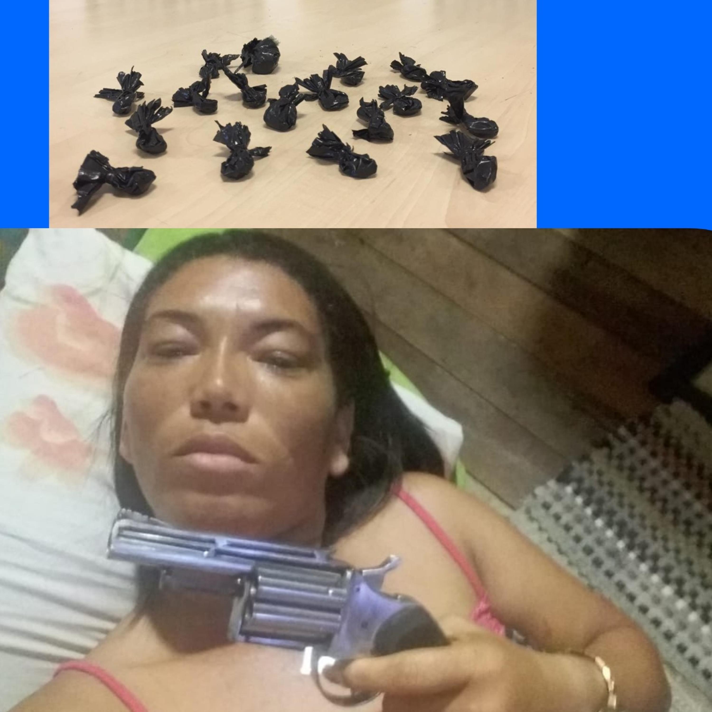 Bibi perigosa é presa por tráfico de drogas em Abaetetuba ouçam este caso delegado Renata Gurgel