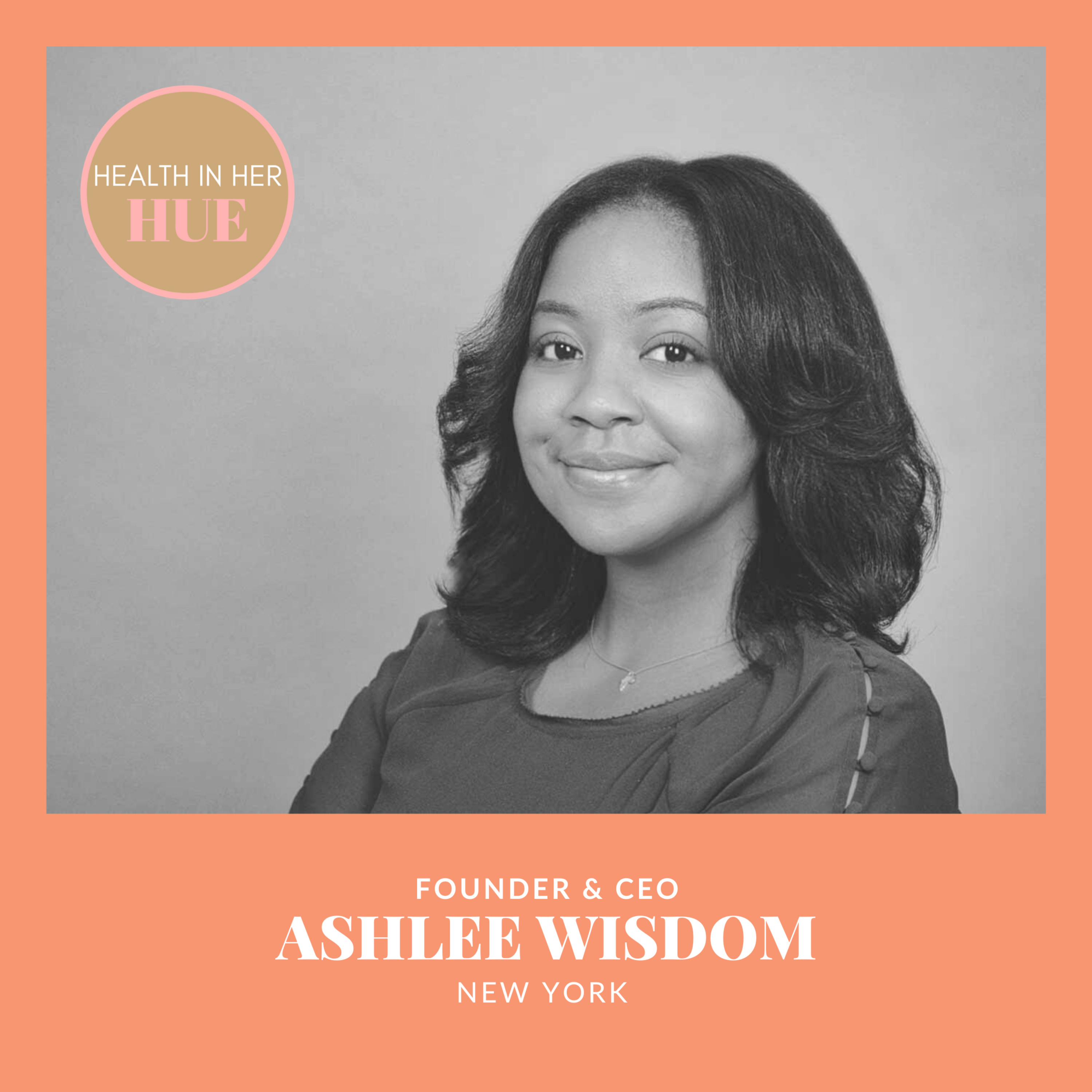 """""""To say that black women need this, is not to say that other people don't!"""" - Ashlee Wisedom"""