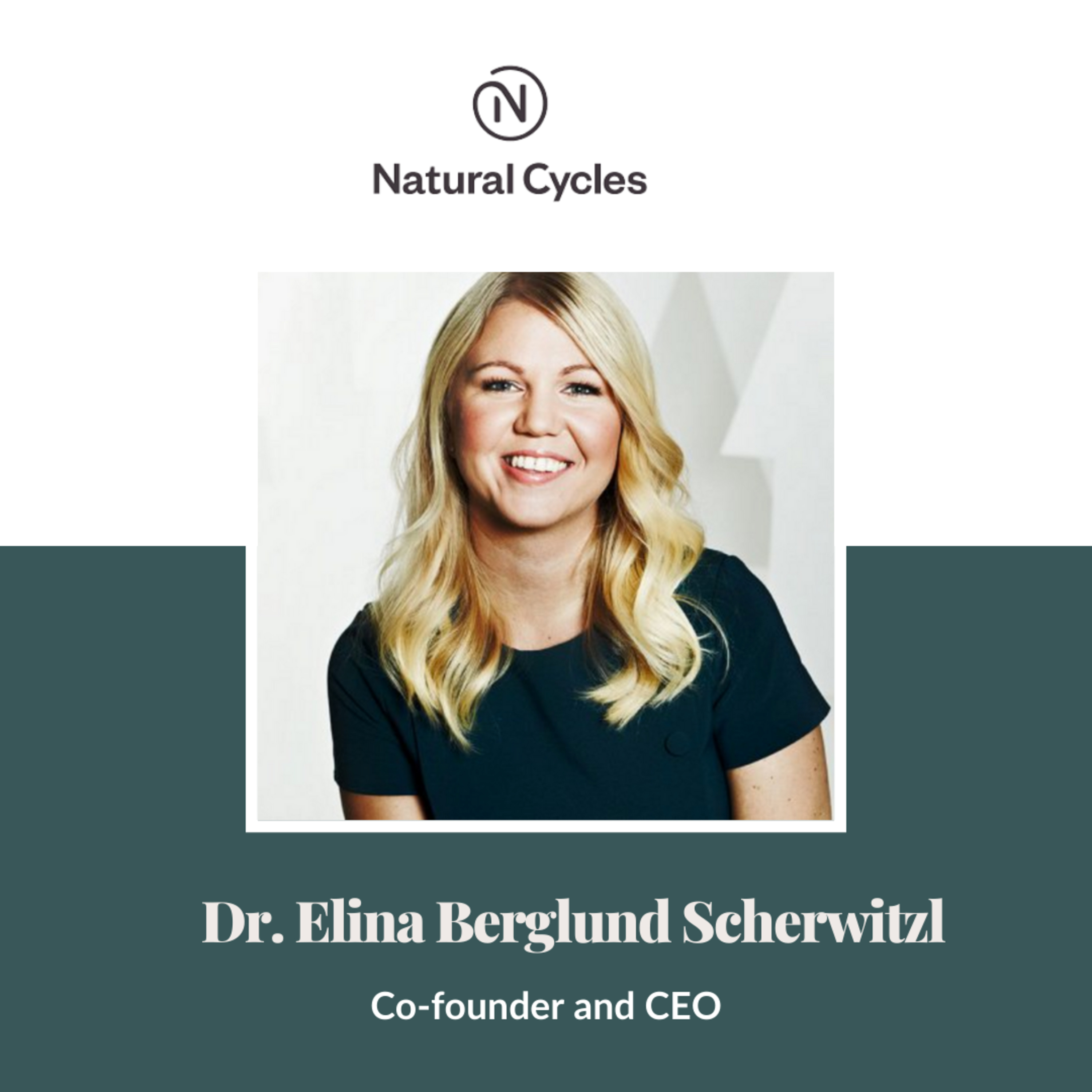 """""""There will be setbacks, but you need to have the patience and the tenacity to keep going because the person who keeps at it is the one that wins in the end."""" - Dr. Elina Berglund Scherwitzl"""